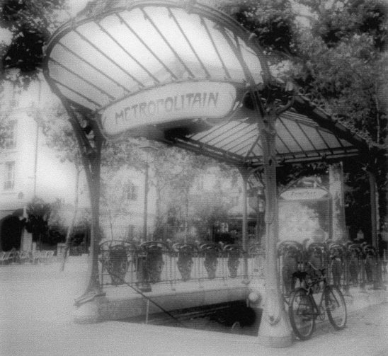 Paris Metro Entrance