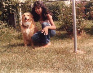 With Tasha 13 yrs old