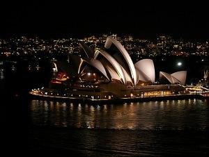 At Night from Bridge