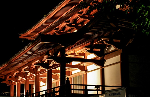 Zojo-Ji at Night