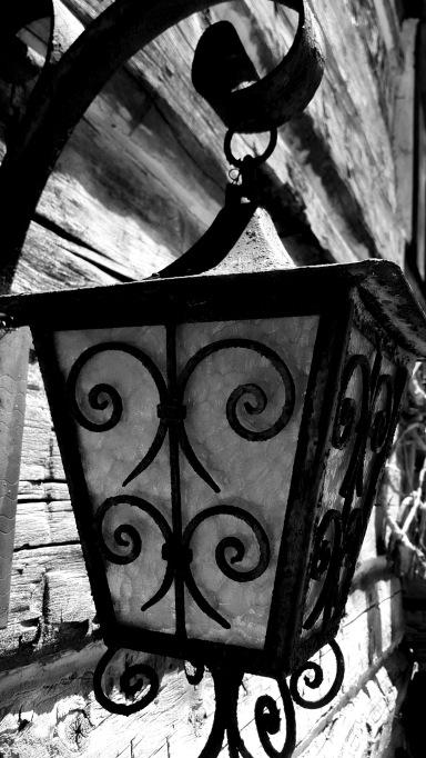 Iron Lamp