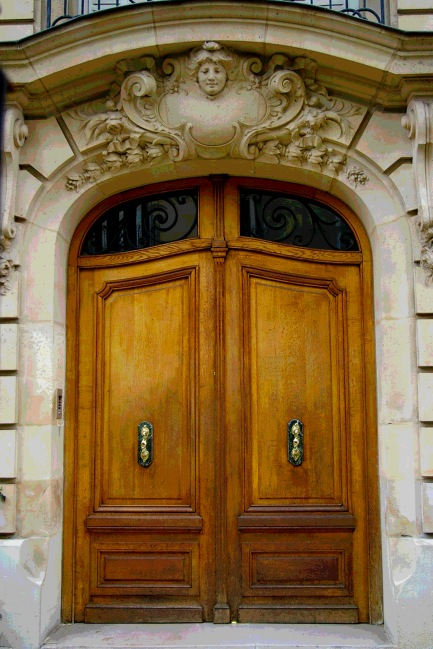 Paris Brown Double Doors