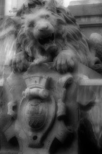 Sulpice Lion B&W
