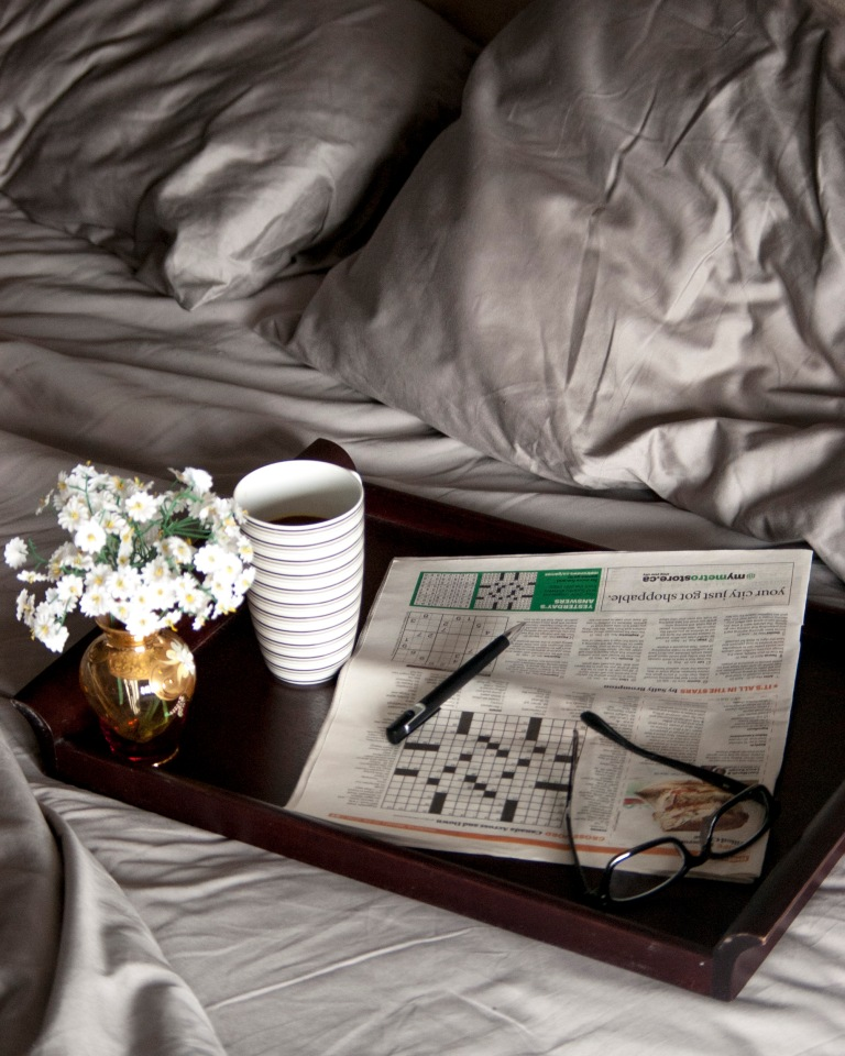 Crossword in Bed