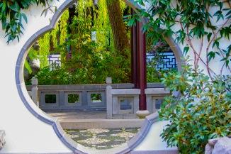 Lan Su Chines Garden Window