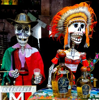 Skeletons with Tequila