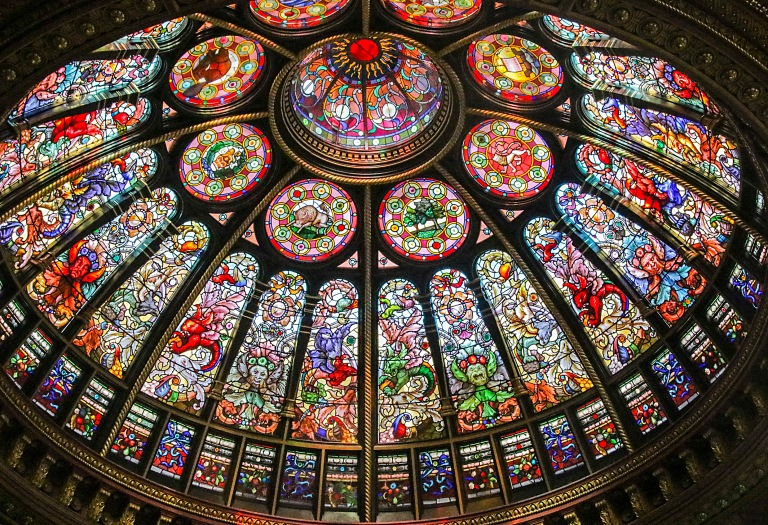 stained-glass-dome